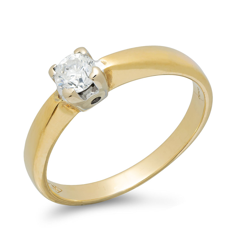 pre-owned-18ct-yellow-white-gold-diamond-solitaire-ring
