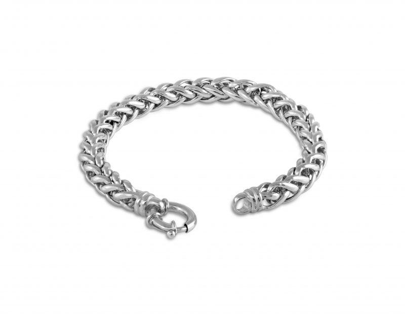 Sterling silver bracelet -Spiga bracelet - HC Jewellers - Royston