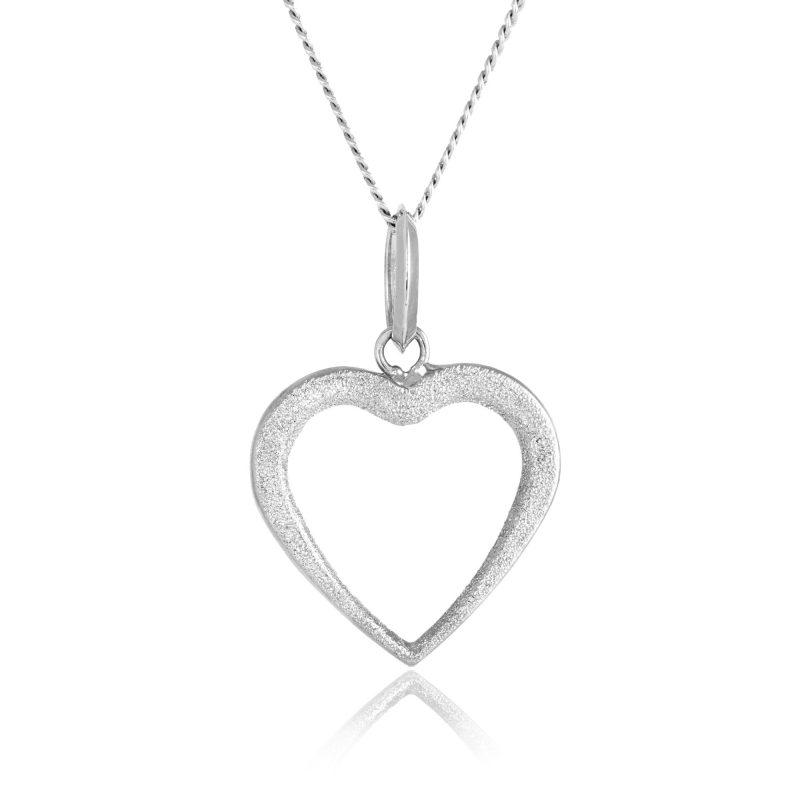 white gold pendant - 18ct gold pendant - HC Jewellers - Royston