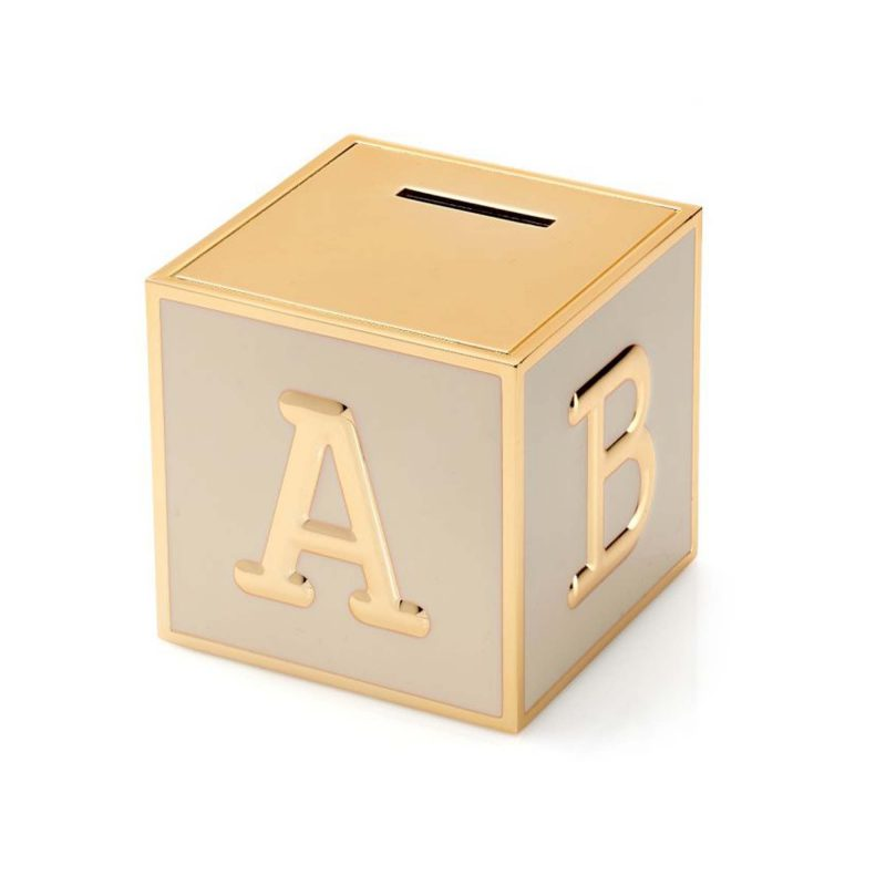 money box - abc - childrens - gift - silver plated - HC Jewellers - Royston