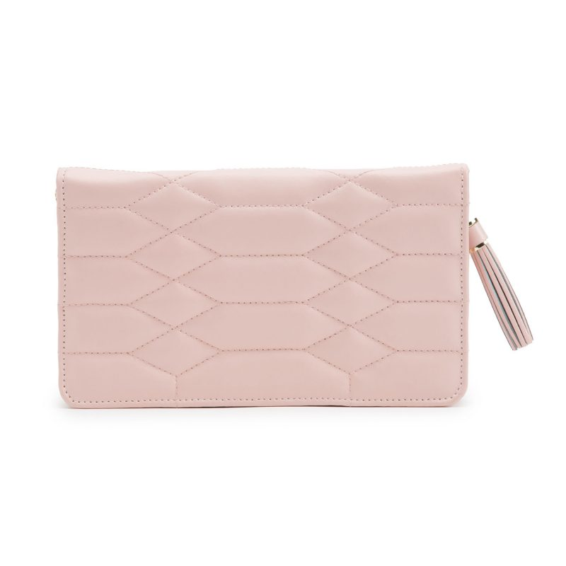 Jewellery Portfolio - Caroline Rose Quartz Zip case