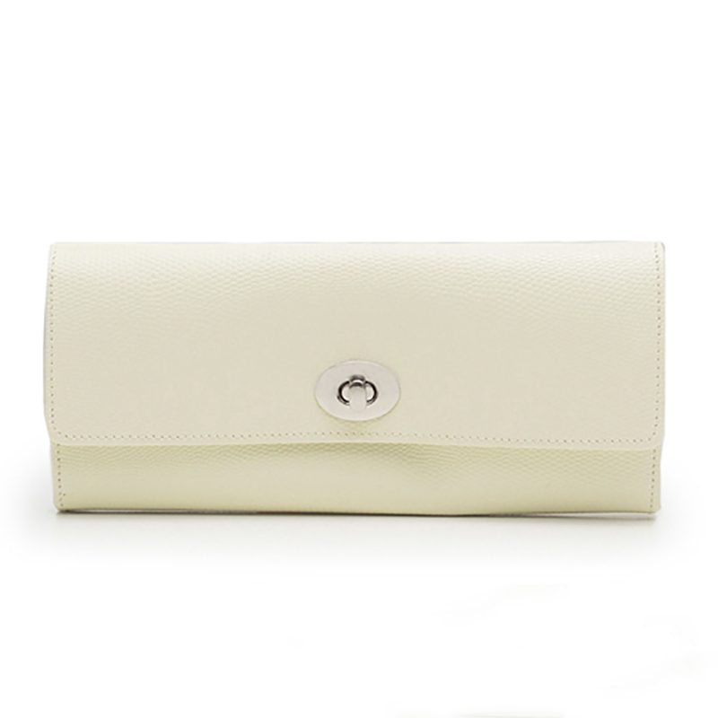Jewellery Roll - WOLF - London Cream Jewellery Roll