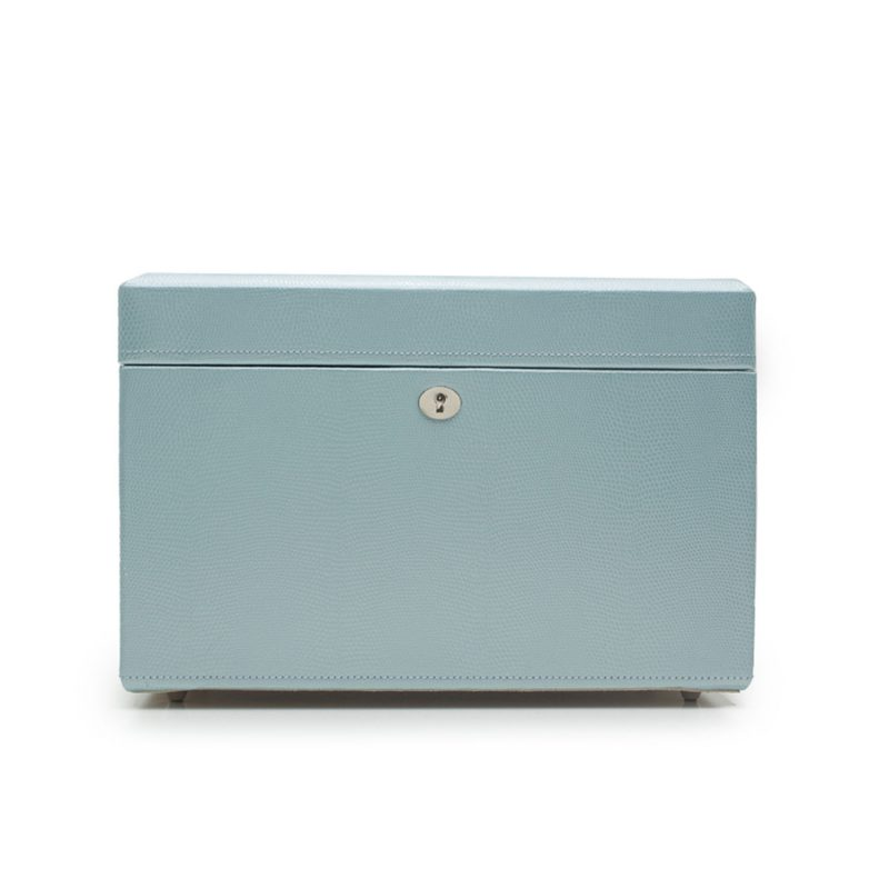 Jewellery Box - London Ice Blue Medium Jewellery Box