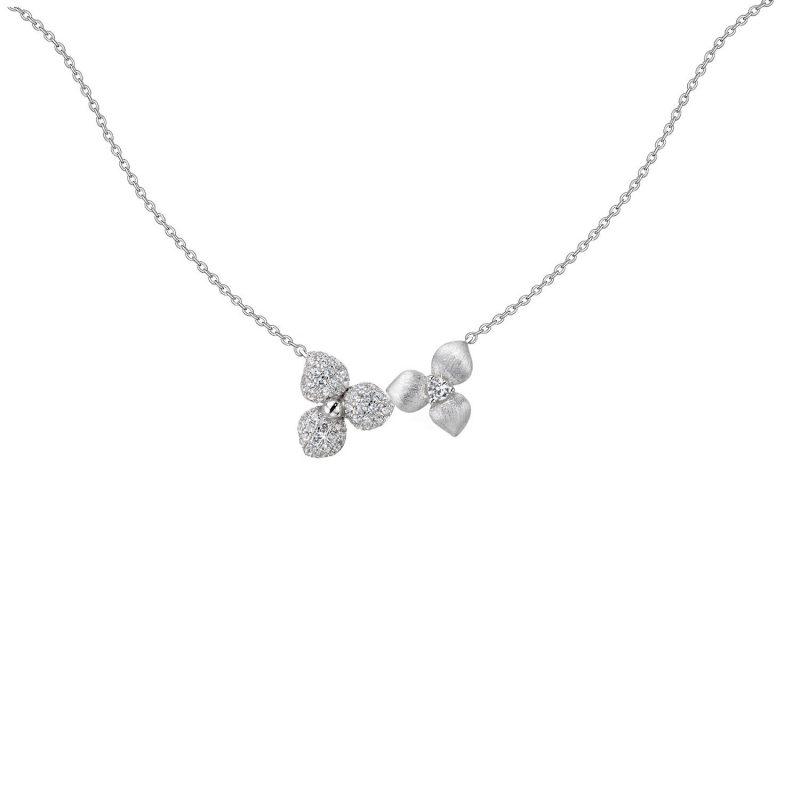Desert Flower Silver Pendant