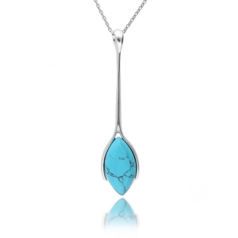 silver-turquoise-drop-pendant-hc-jewellers-royston-hertfordshire 4236400003398
