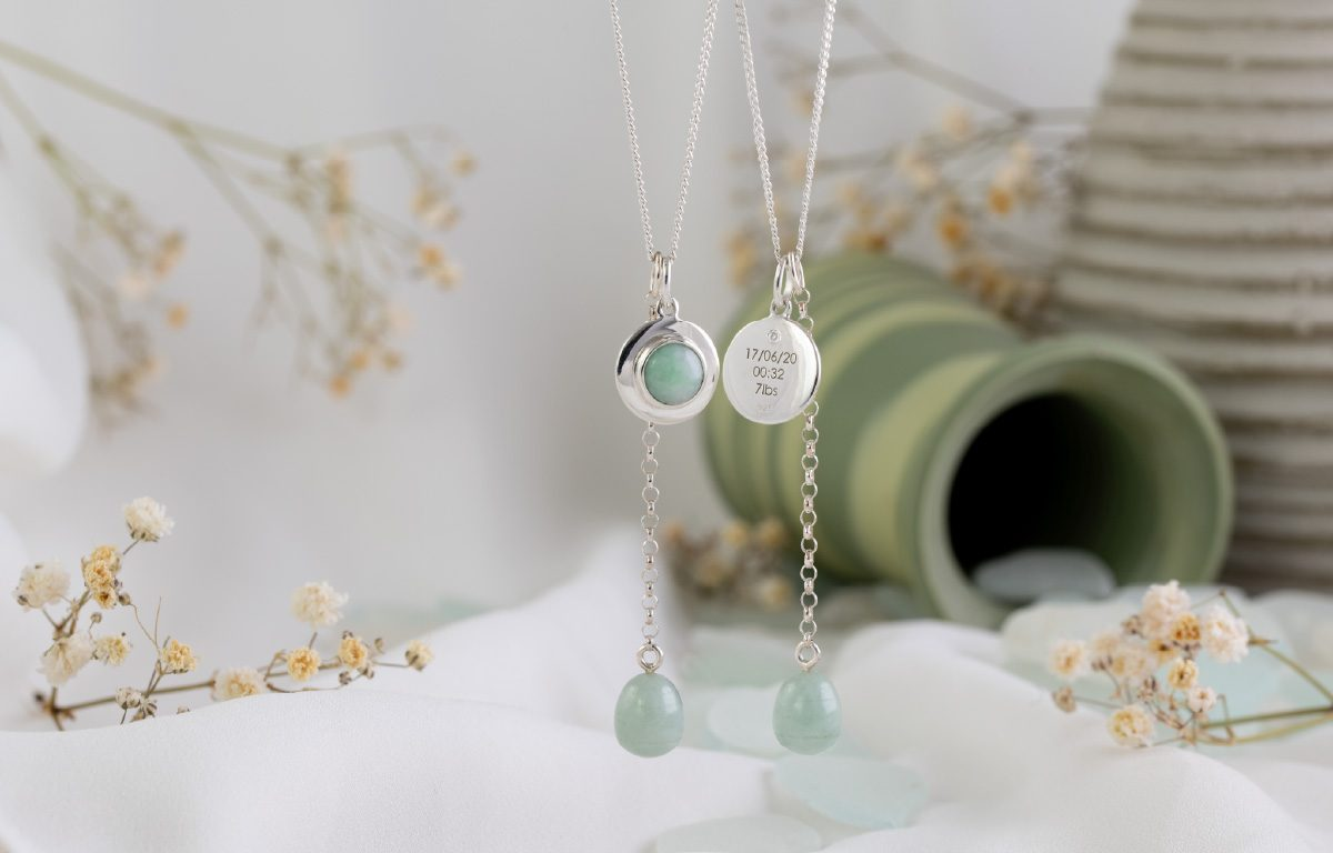 Bespoke Jade and diamond pendant